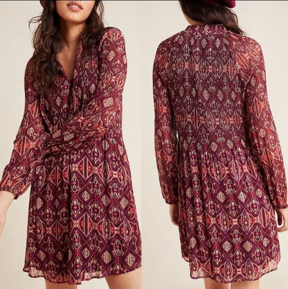 Anthropologie Dresses & Skirts - Anthropologie x Daniel Rainn Cynthia Tunic Dress